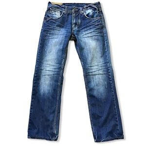 2 DIE FOR   1 in a Million Distressed Jeans 32x31